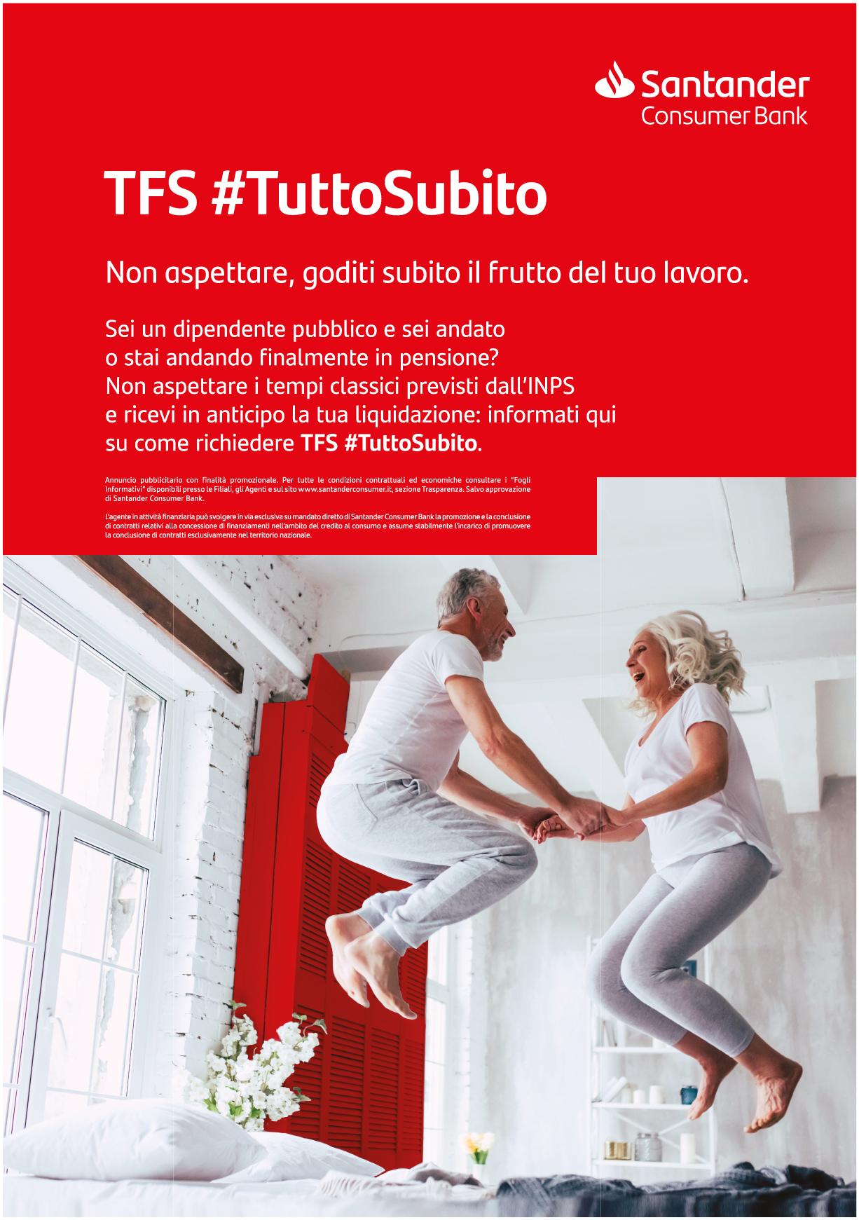 Anticipo TFS Santander